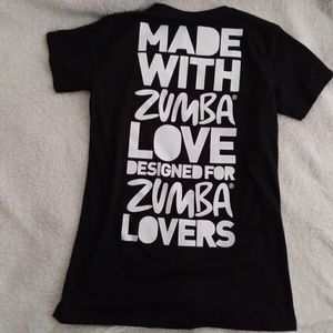 Cute Black Zumba Shirt